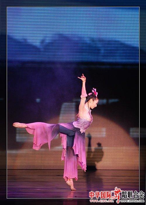 舞蹈(爱莲说)演出服; 【舞】古典舞图图片